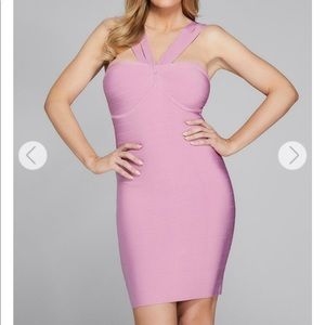 Marciano Dresses - Guess Marciano CLEMENTINE HALTER BANDAGE DRESS XS